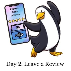 Day 2: Leave a Review