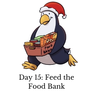 Day 15: Feed the Food Bank